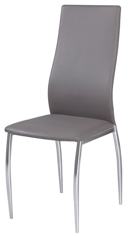 Stolička HK-801 šedá