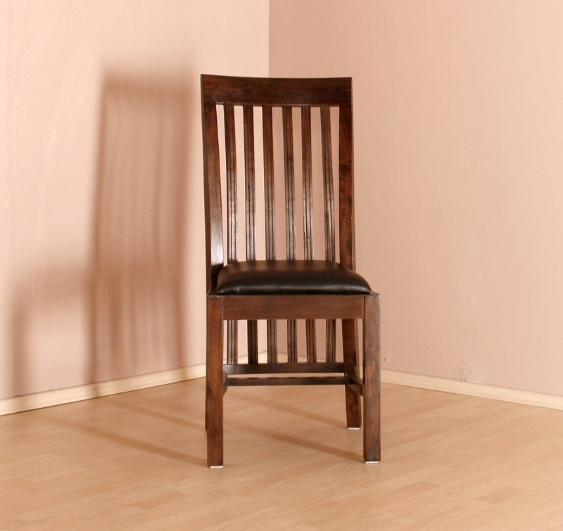 BANGALORE stolička #6 čierne čalúnenie