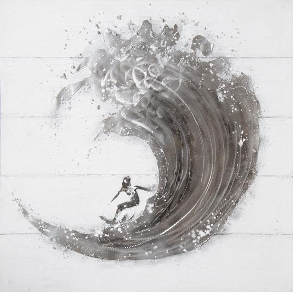 Rimbo - Wave 100x100 cm