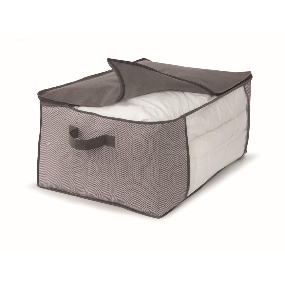 Hnedý uložný box na prikrývky Cosatto Twill, 45 x 60 cm