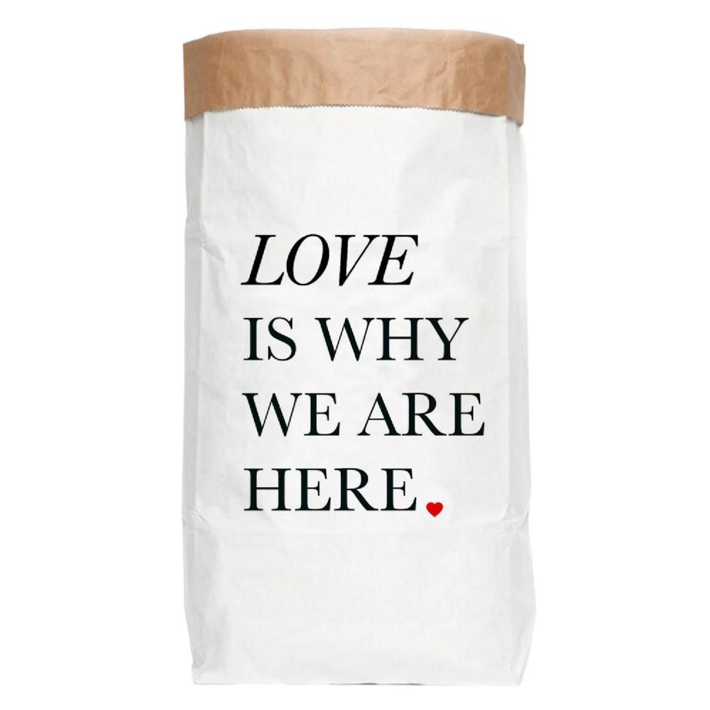 Papierové úložné vrece Really Nice Things Ordenacion Love