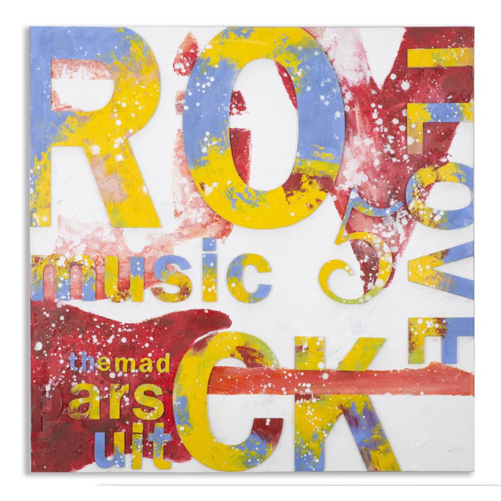 Obraz Mauro Ferretti Music, 100 x 100 cm