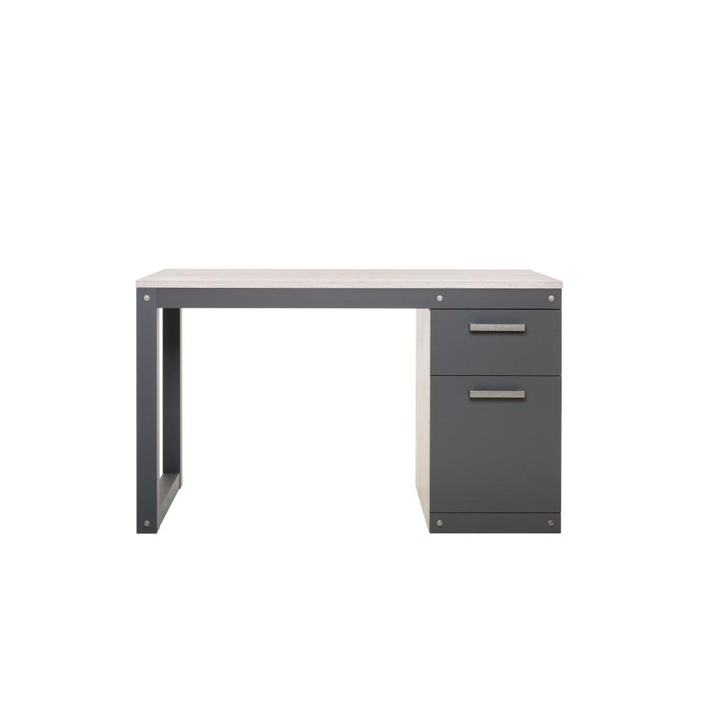 Čierny pracovný stôl Intertrade Brooklyn