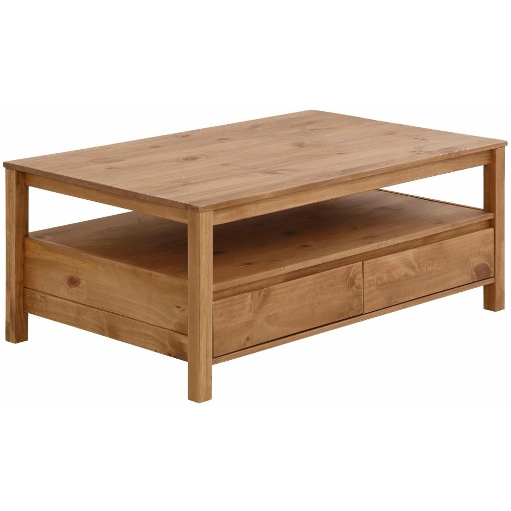Konferenčný stolík z masívneho borovicového dreva Støraa Salento