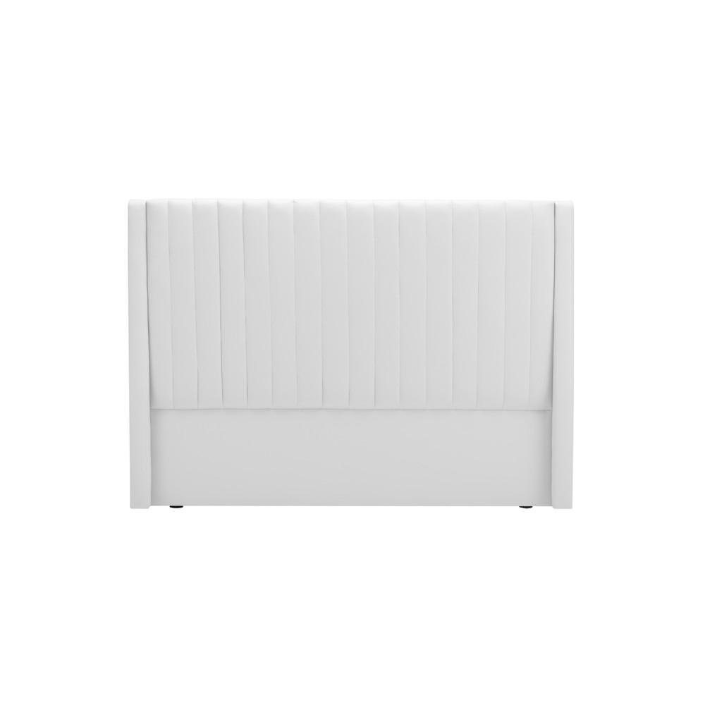 Biele čelo postele Cosmopolitan design Dallas, 160×120 cm