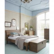 Furniture nábytok  Masívna posteľ z Palisanderu  Rahmán  200x180 cm