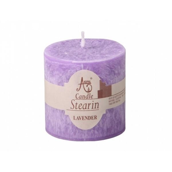 Stearínová sviečka Capri Levanduľa, 5 cm
