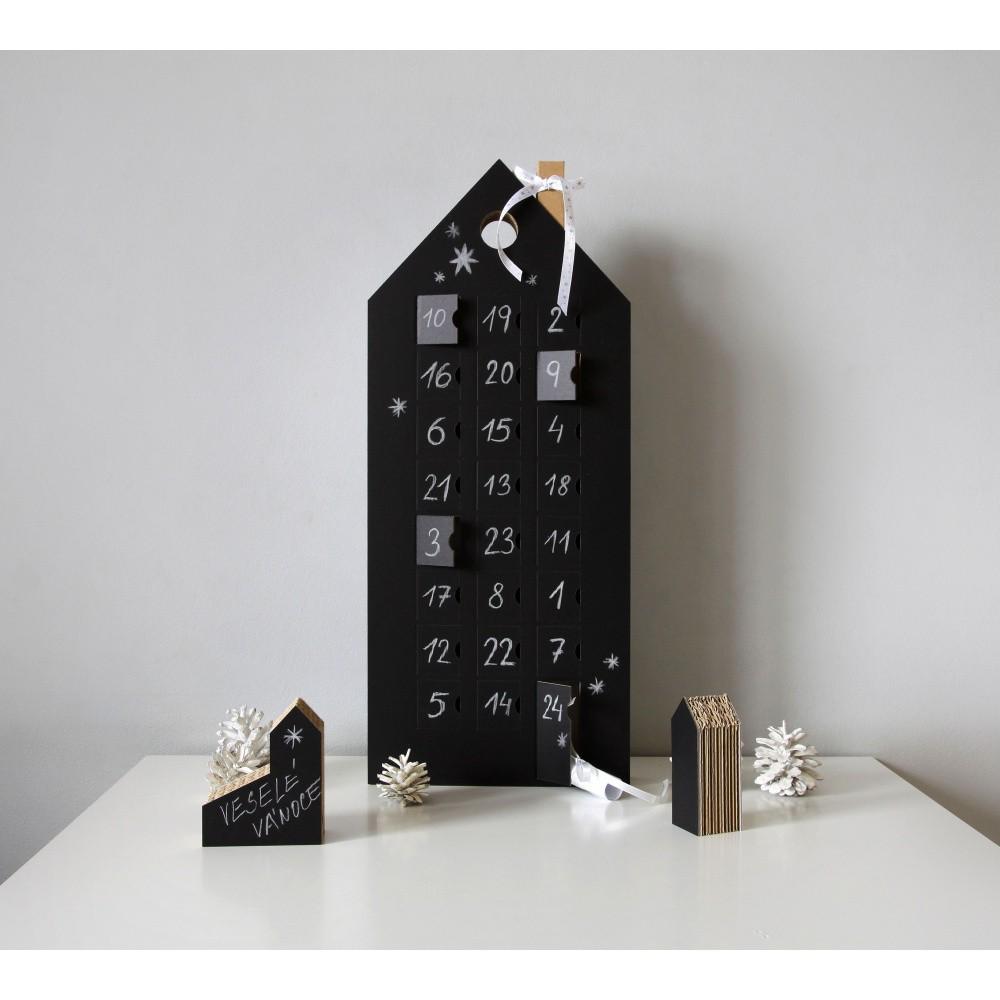 Adventný kalendár s tabuľovou plochou Unlimited Design for kids