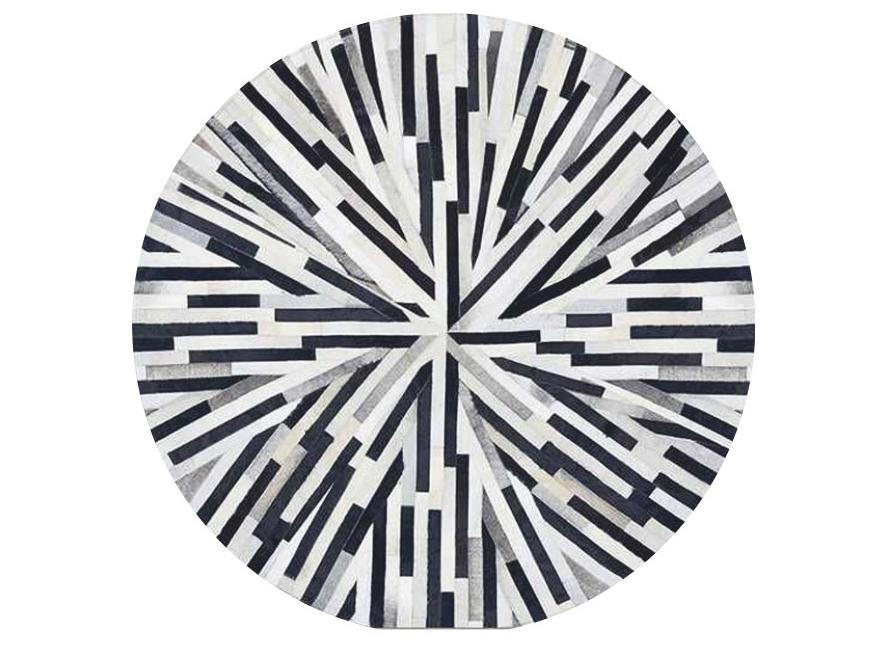 Kožený koberec TYP 08 (hovädzia koža + vzor patchwork)