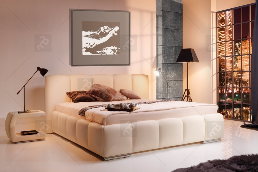 Nabytok-Bogart Posteľ carrera 180 x 200 bez vnútorného úložného priestoru