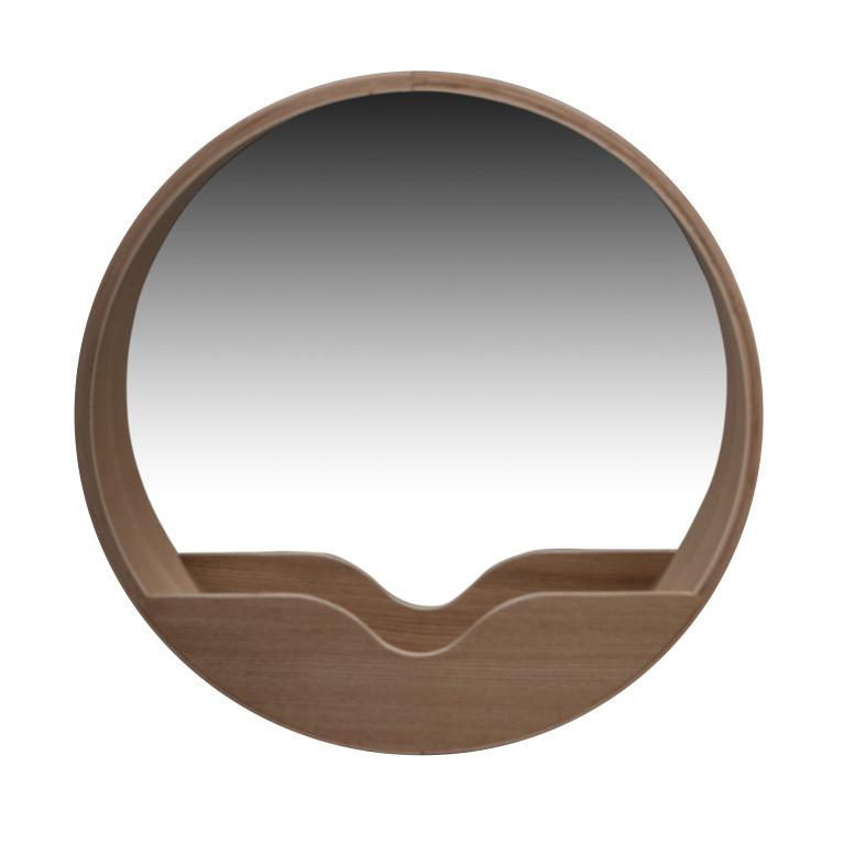 Zrkadlo s odkladacím priestorom Zuiver Round Wall, 60 cm