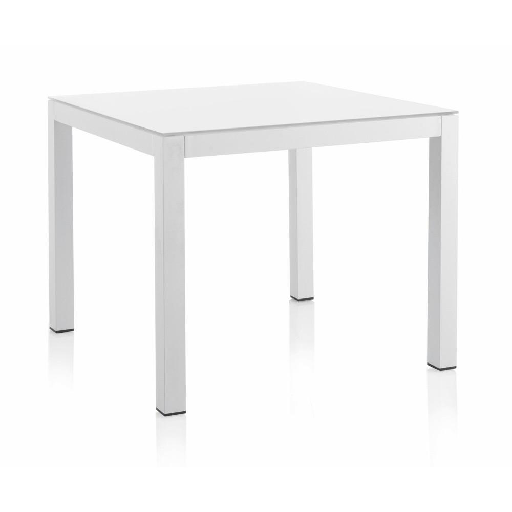 Záhradný jedálenský stôl Geese Leonard, 90 × 90 cm