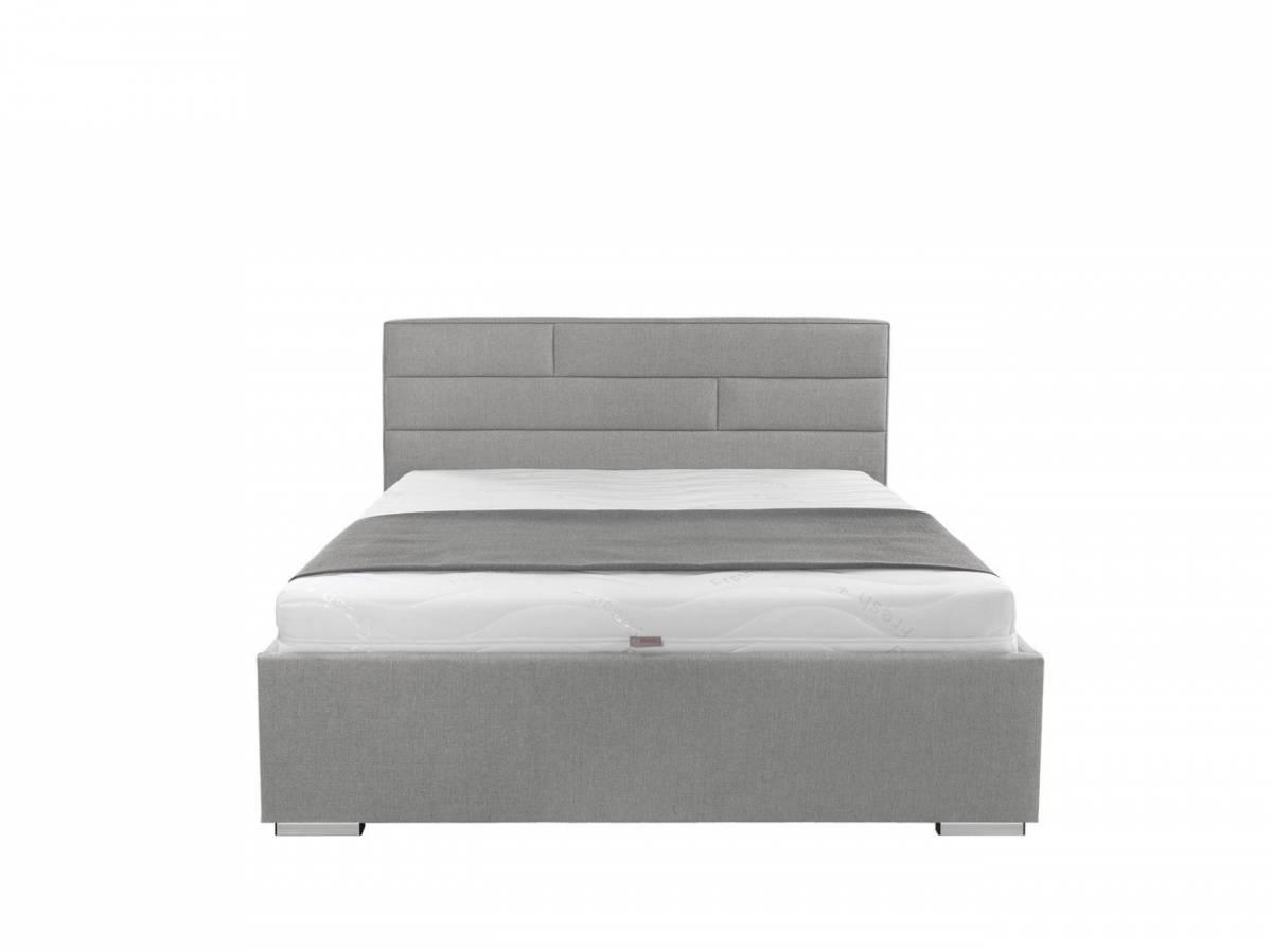 Manželská posteľ 140 cm Kate Futon (sivá)