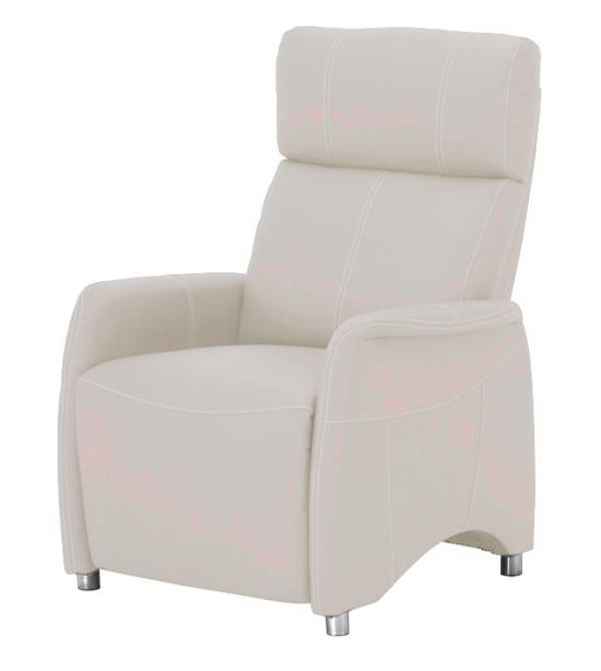 Relaxačné kreslo Forest CH-113100 koža PU biela