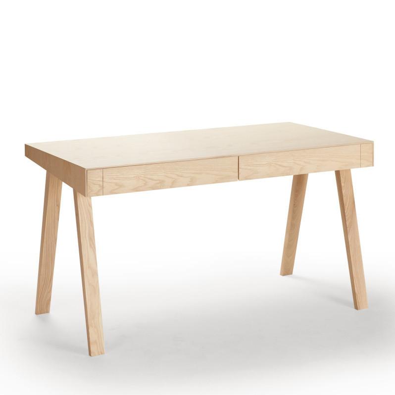 Písací stôl 4,9 Emko, 2 zásuvky, európsky jaseň