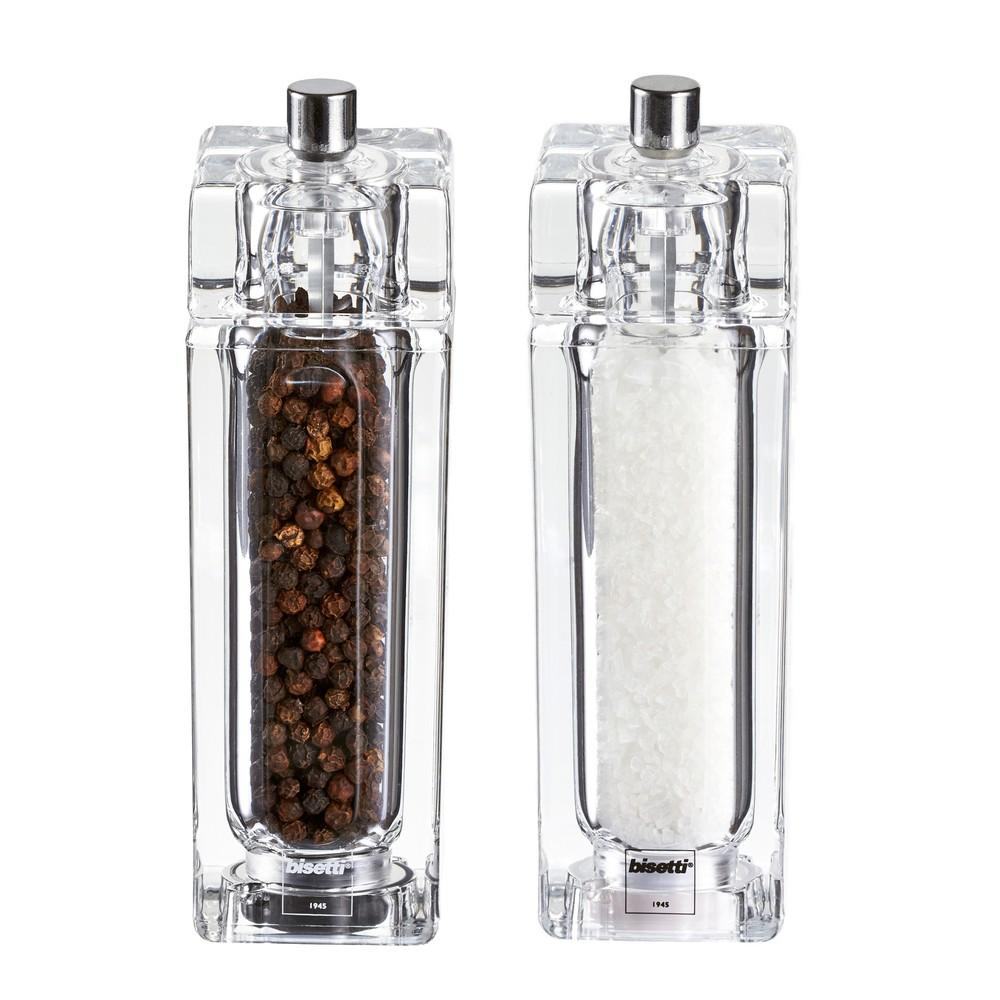 Sada 2 mlynčekov na soľ a korenie Pepper&Salt, 14,5 cm