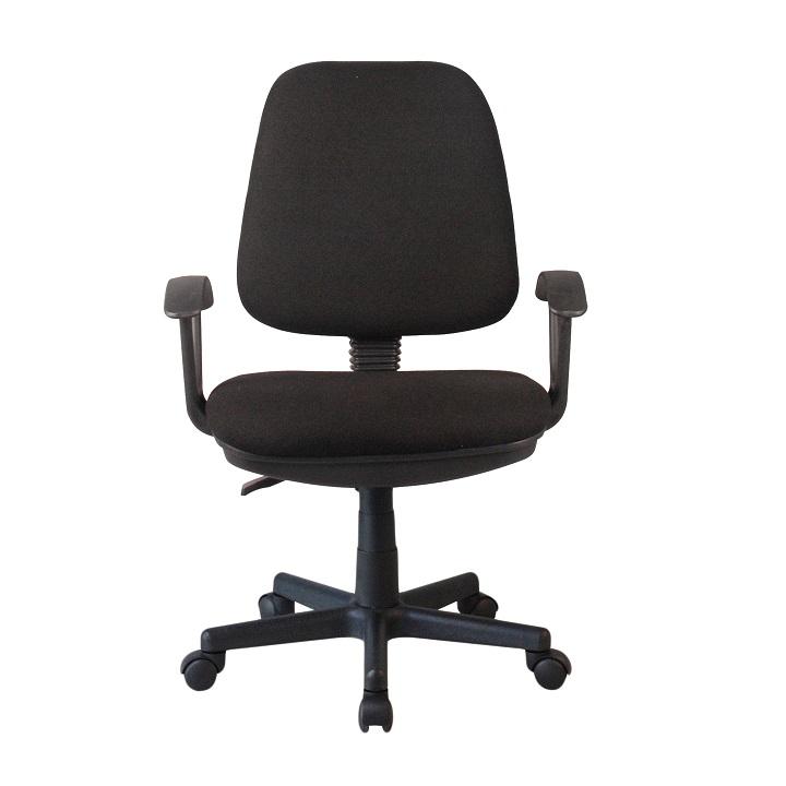 Kancelárska stolička Colby (čierna)