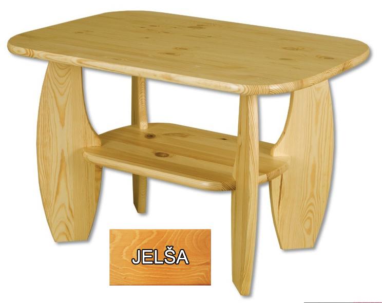 Konferenčný stolík ST 114 (92x67 cm) (jelša) *výpredaj