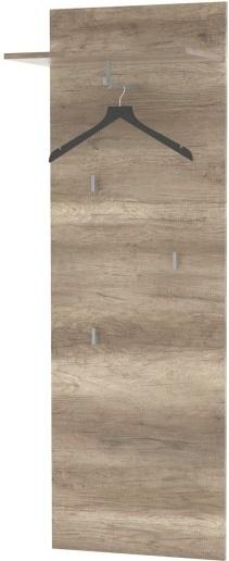 TEMPO KONDELA MARIANA 11 vešiakový panel - dub canyon