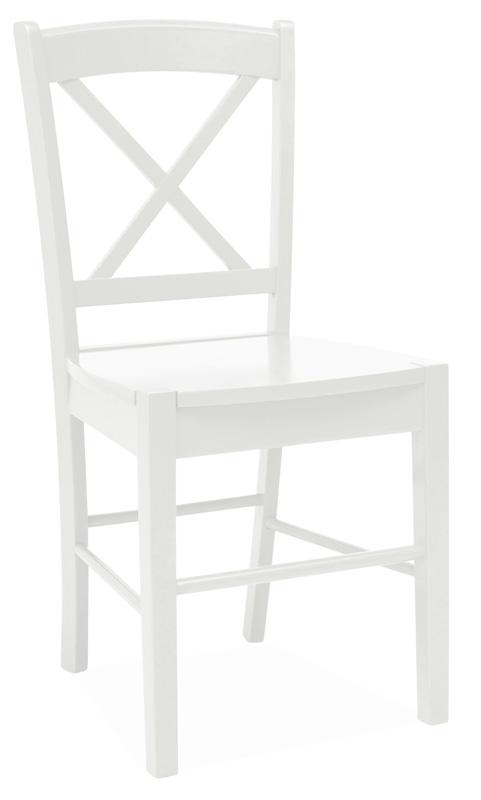 SIGNAL CD-56 jedálenská stolička - biela