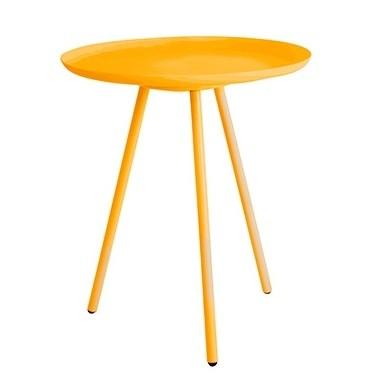 Odkladací stolík Frost, žltý