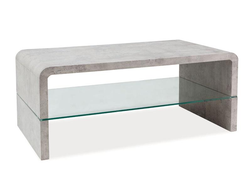 Konferenčný stolík Rica (sivá)