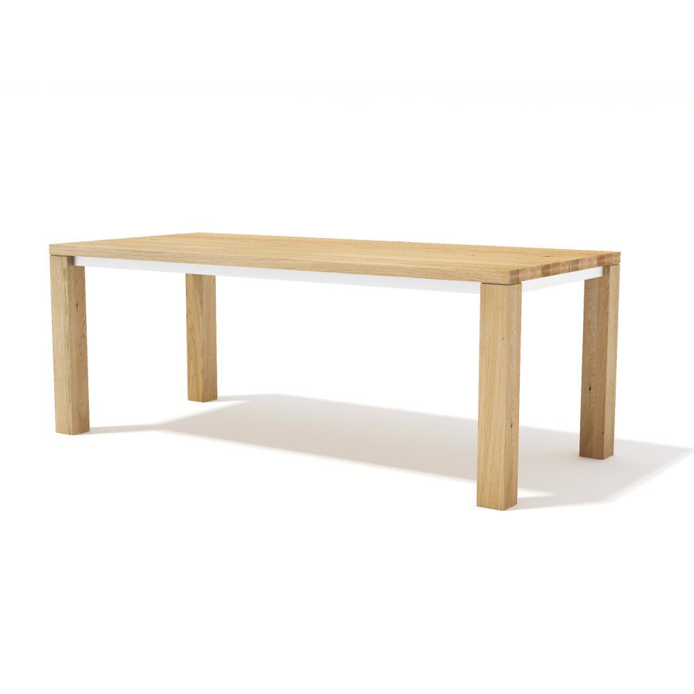 Jedálenský stôl z masívneho dubového dreva Javorina Next, 240 cm