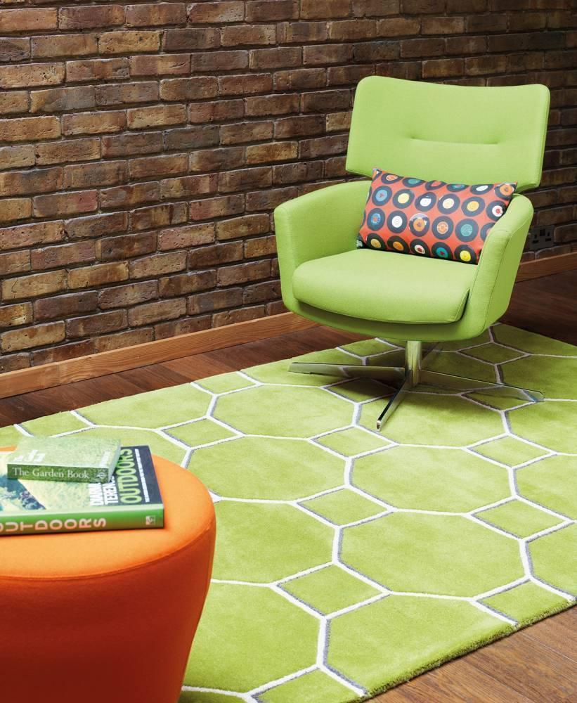 Matrix koberec MAX10 Cassin - zelená
