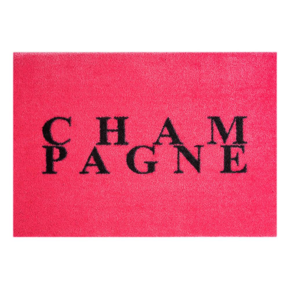 Ružová rohožka Mint Rugs  StateMat Champagne, 50x75cm
