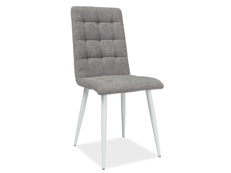 MOTTO jedálenská stolička, biela/šedá