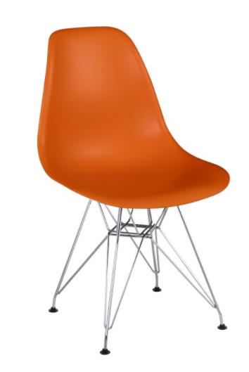 Jedálenská stolička Anisa New   Farba: Oranžová