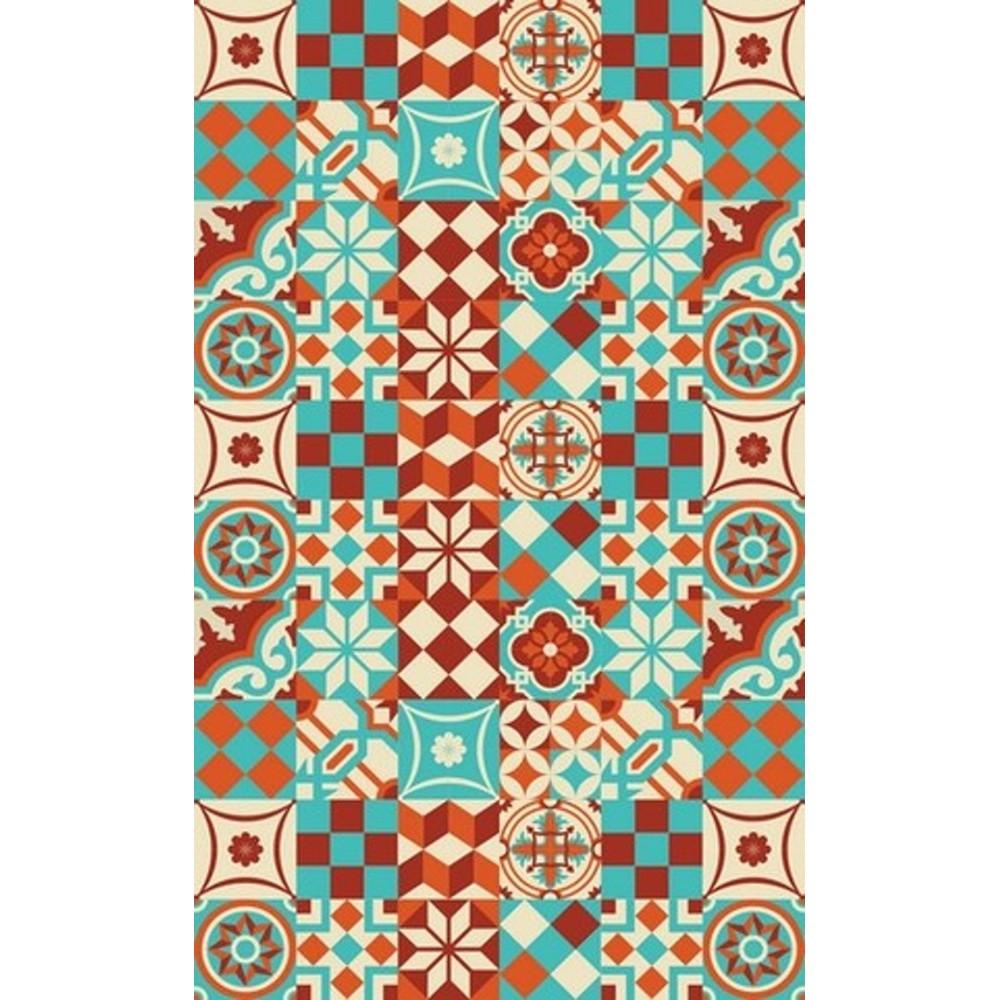 Vinylový koberec Huella Déco Colorido 196x133 cm