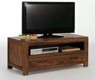 Furniture nábytok  Masívny TV stolík z Palisanderu  Zohre  100x42x50 cm