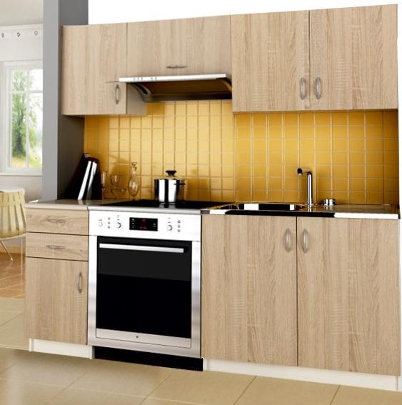 Kuchyňa Jolka Tafla 180 cm dub sonoma