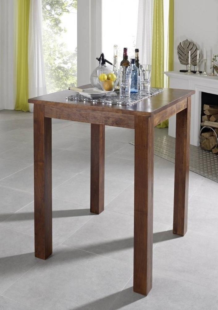 OXFORD #517 Kolonial barový stôl 85x85 masívny agát