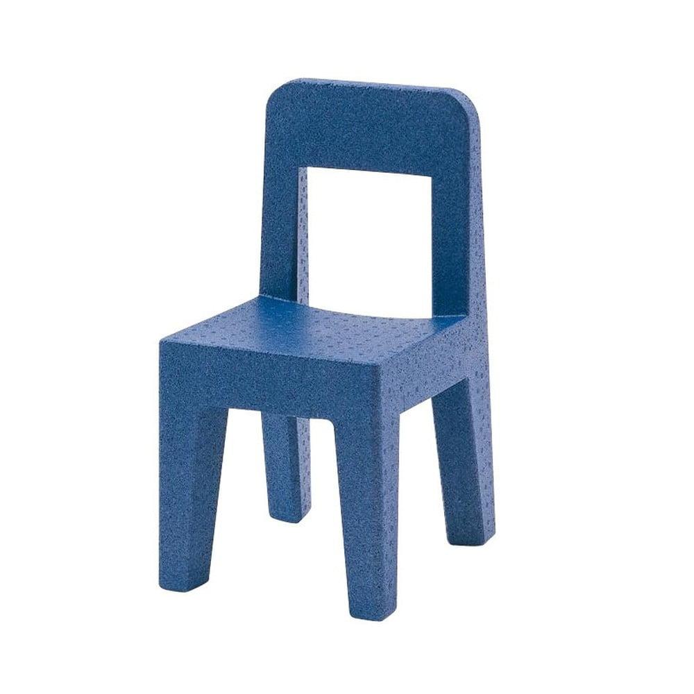 Modrá detská stolička Magis Seggiolina Pop