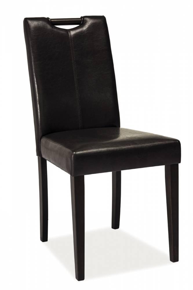 Jedálenská stolička CD-76 (tmavohnedá)