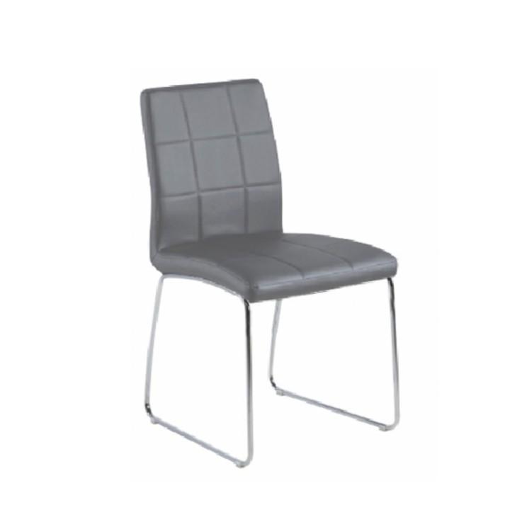 Jedálenská stolička Sida (sivá)