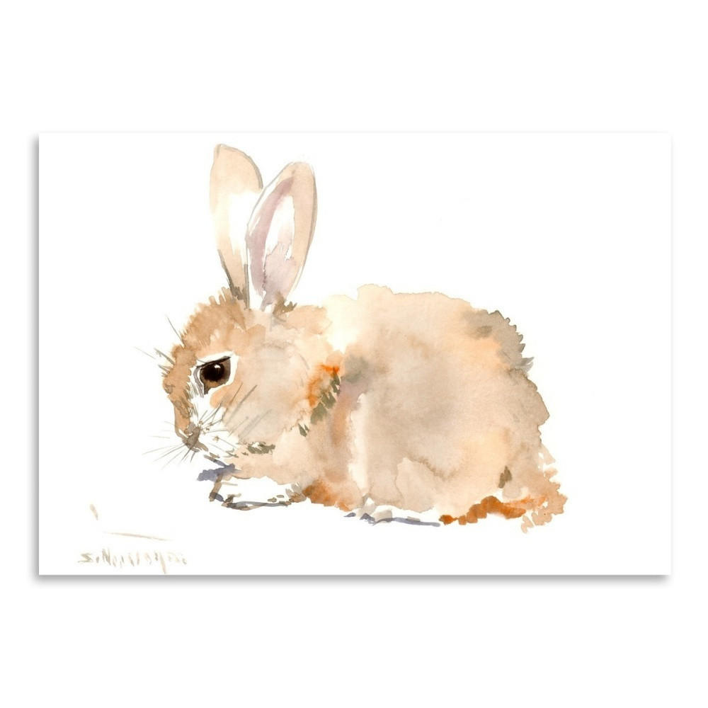 Autorský plagát Bunny od Surena Nersisyana, 30 x 21 cm