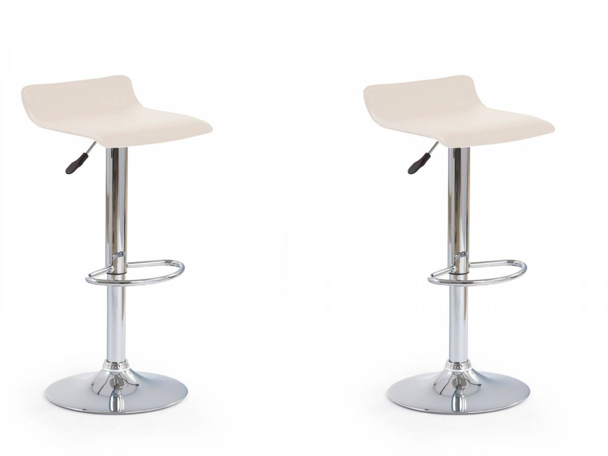 Set 2 ks. barových stoličiek H-1 krémová *výpredaj