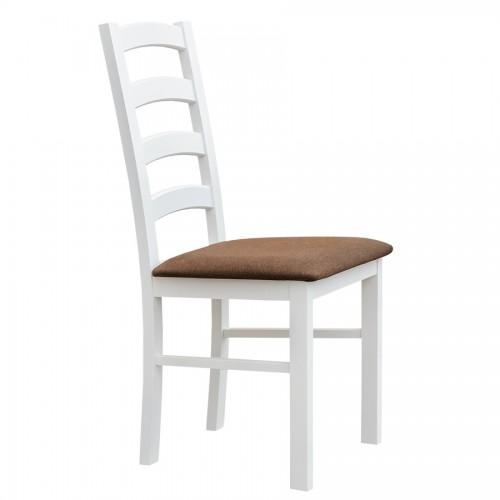 Biely nábytok Stolička Belluno Elegante 01, čalúnenie MINI 529