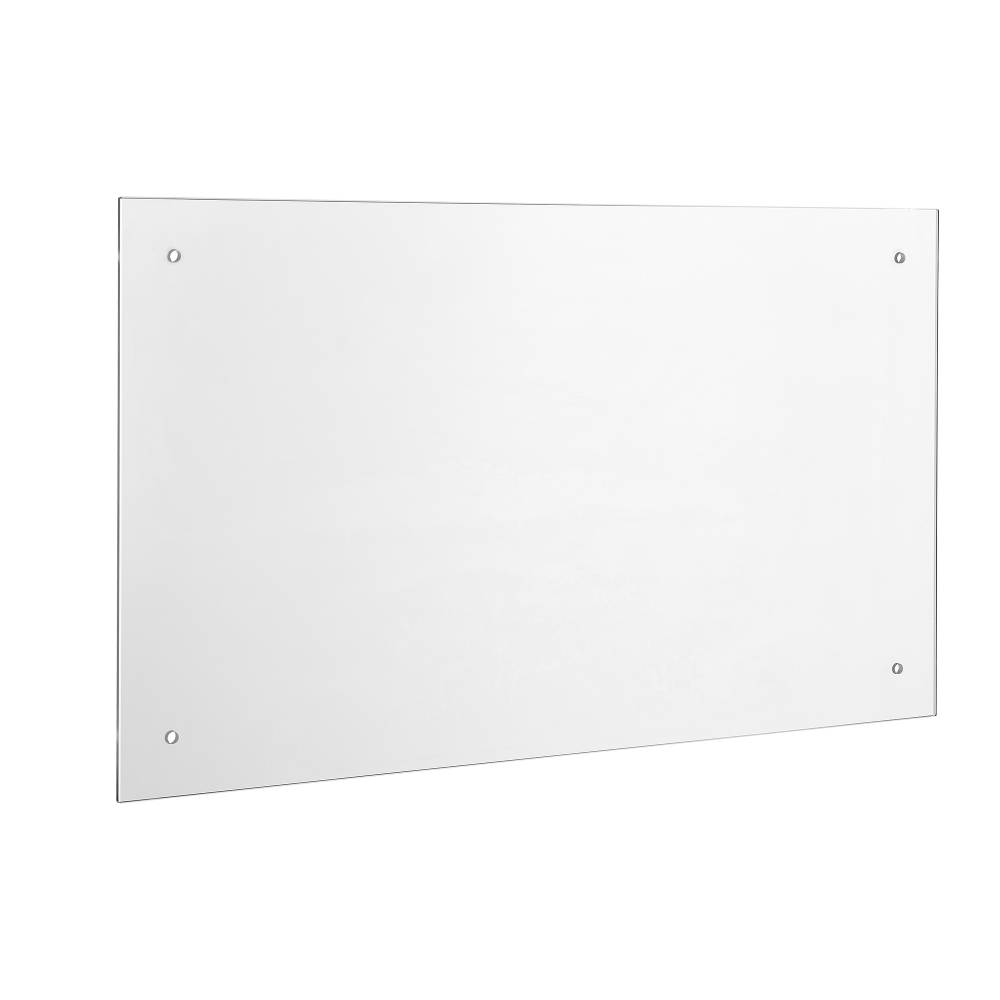 [neu.haus]® Kuchynský zadný panel / Splaschback - 70 x 40 cm - číre sklo