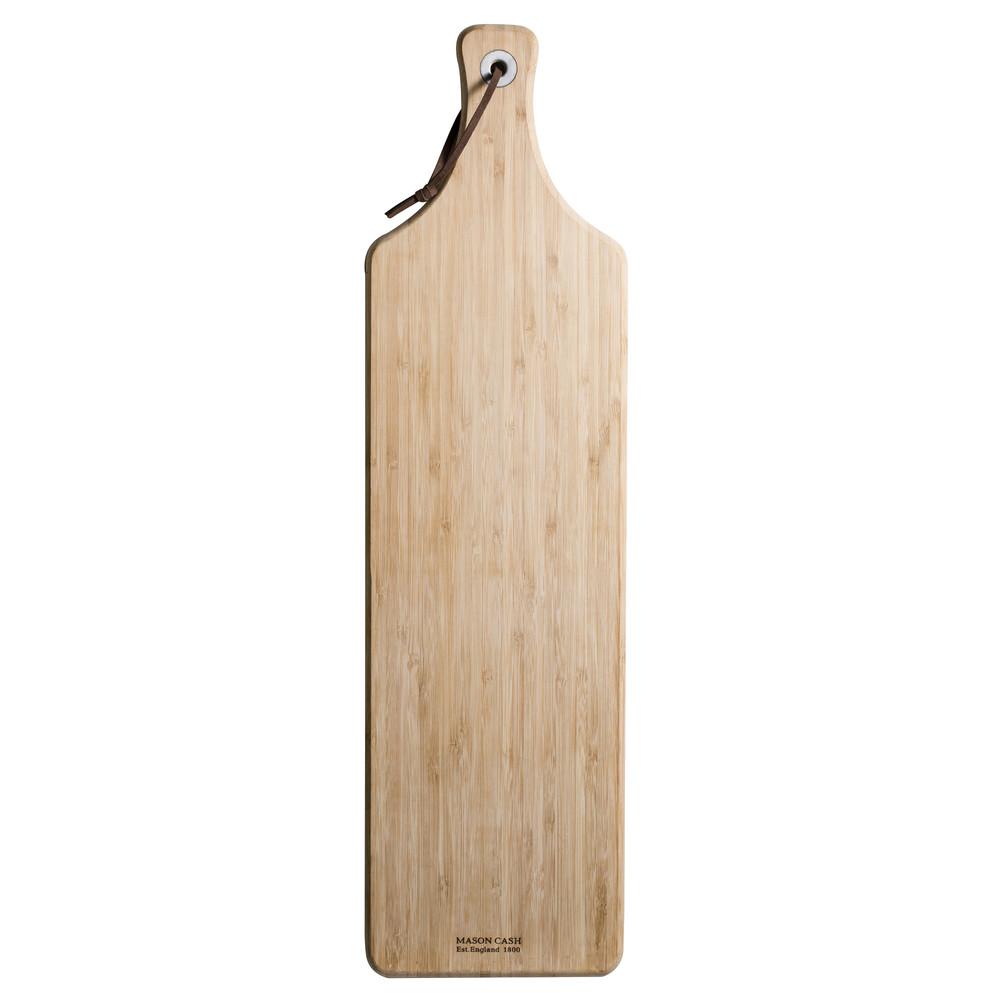 Drevená servírovacia doštička Essentials, dĺžka 59 cm