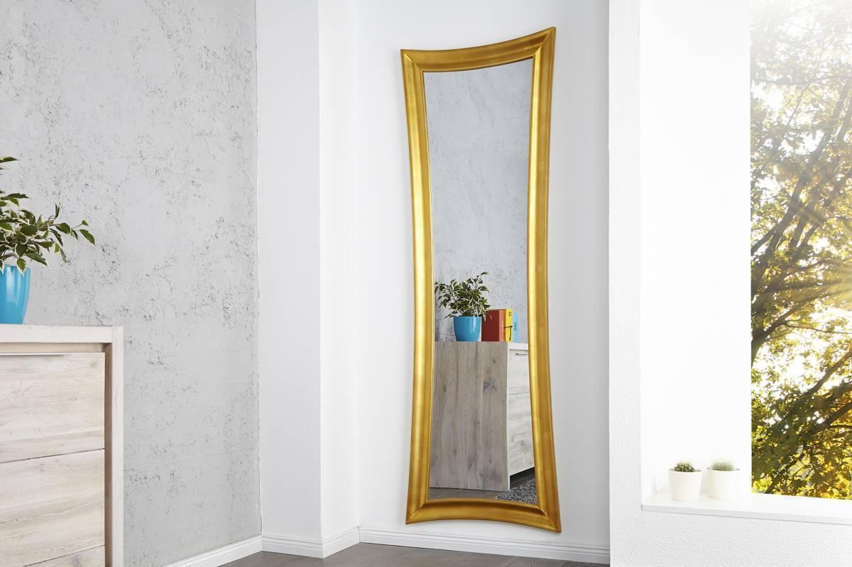 Zrkadlo na stenu VALENTINE - zlatá
