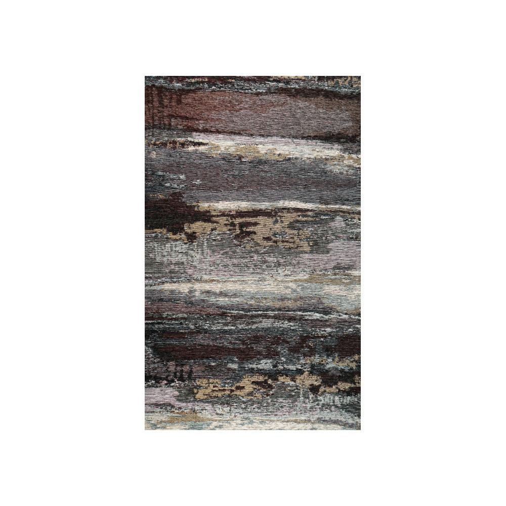 Sivo-čierny koberec Kate Louise Vintage, 110 x 160 cm