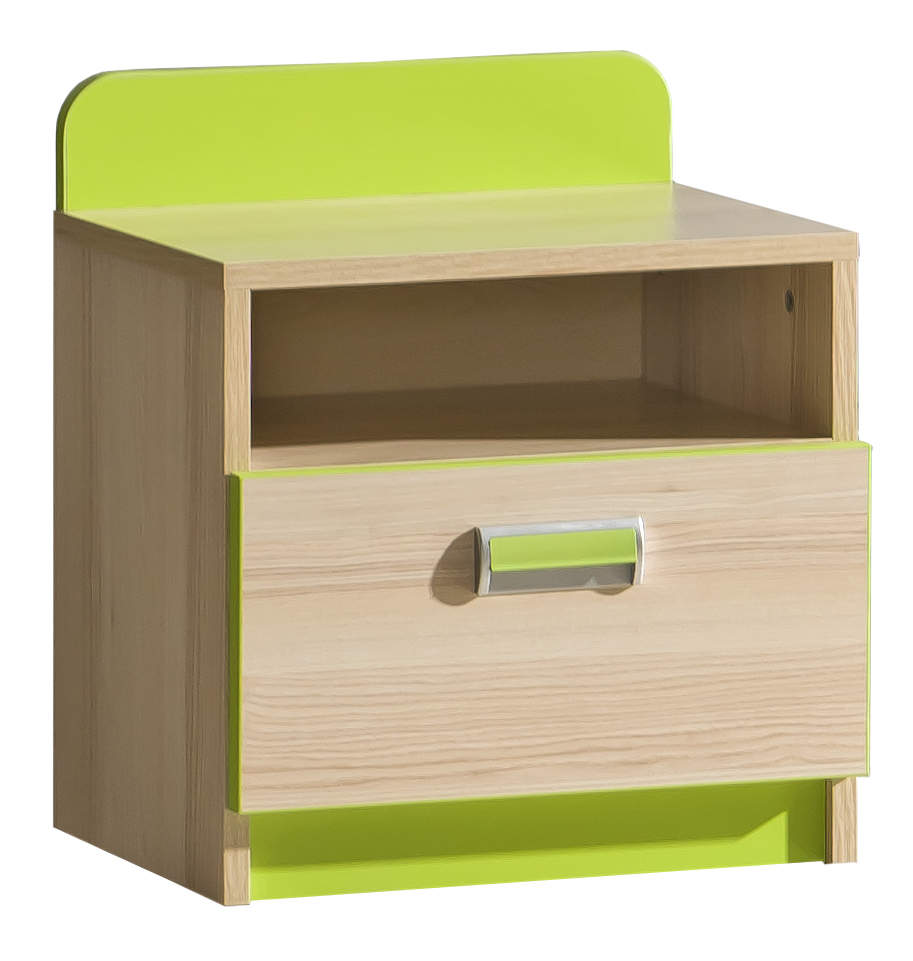 Nočný stolík Ego L12 zelená