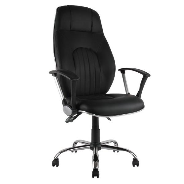 Kancelárska stolička čierna ZK71