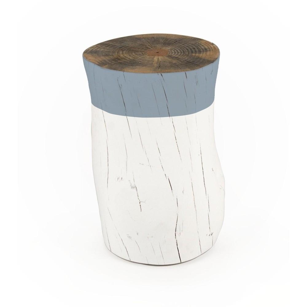 Taburetka z borovicového dreva Surdic Tronco Azul