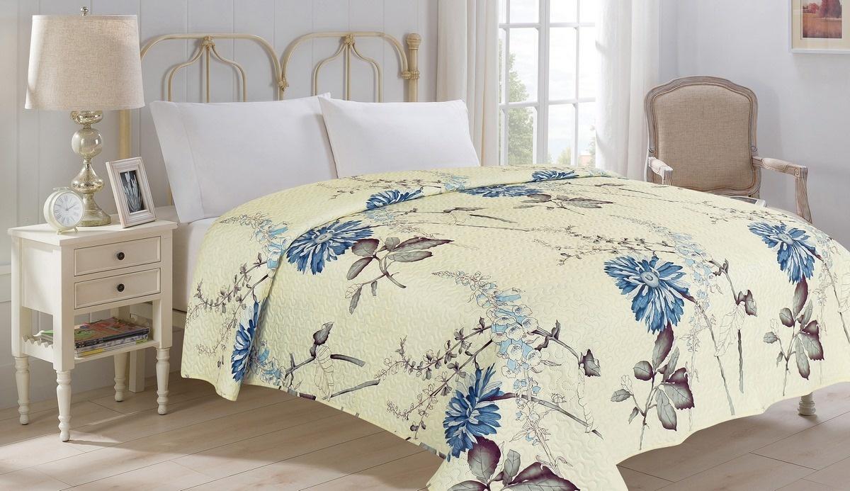 Jahu Prehoz na posteľ Bianca biela, 220 x 240 cm