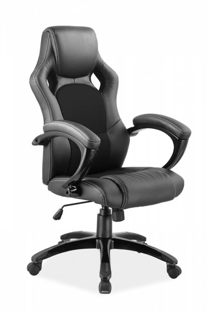 Kancelárske kreslo Q-107   Farba: Čierna/čierna